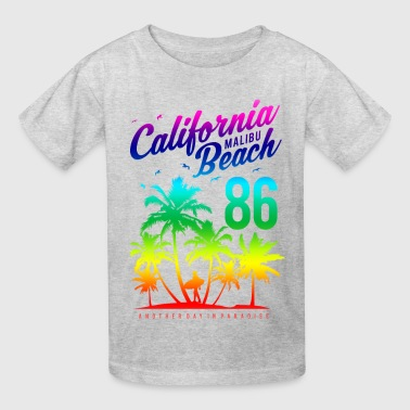 California Malibu Beach 2 - Kids' T-Shirt