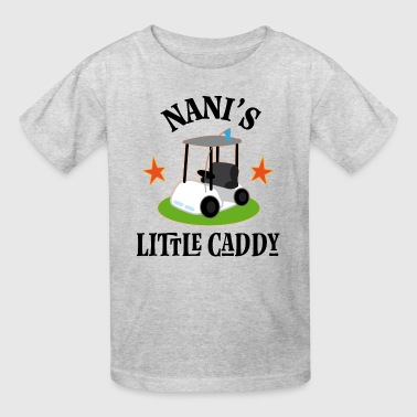 Golfing Nani Little Caddy - Kids' T-Shirt