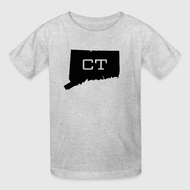Connecticut State Map CT - Kids' T-Shirt