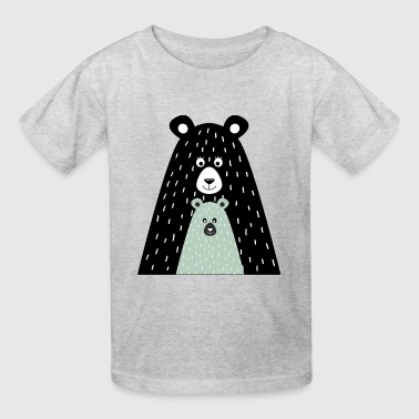 Papa bear and little bear - Kids' T-Shirt