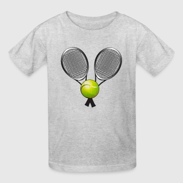 Court Tennis,Tennis Player T shirts - Kids' T-Shirt