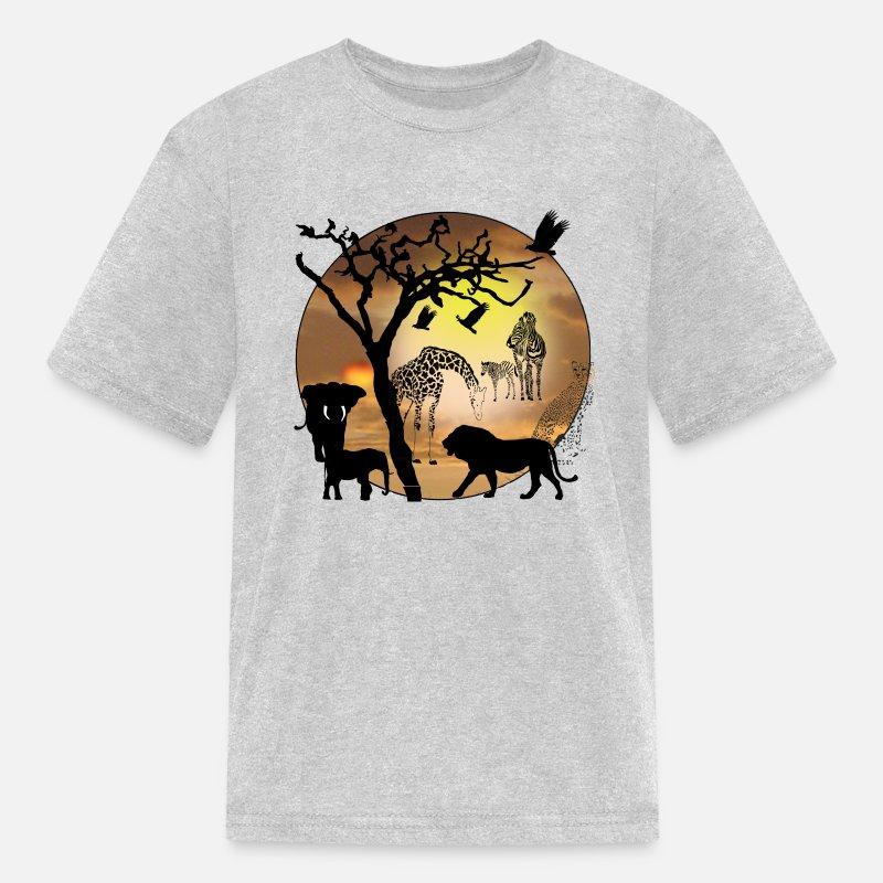 d0aaebdd Shop African Animals T-Shirts online   Spreadshirt