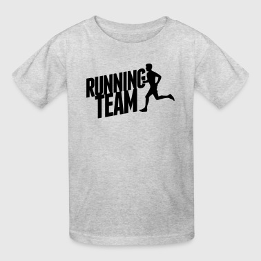 running team - Kids' T-Shirt
