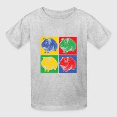 Guinea pig pop art - Kids' T-Shirt