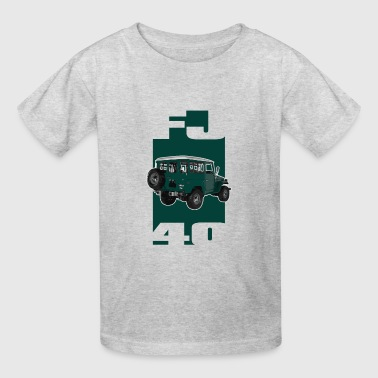 Ih8mud GREEN Toyota FJ40 Landcruiser - Kids' T-Shirt