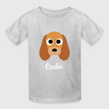 Cocker - English Cocker Spaniel - Kids' T-Shirt