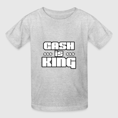Cash is king - Kids' T-Shirt