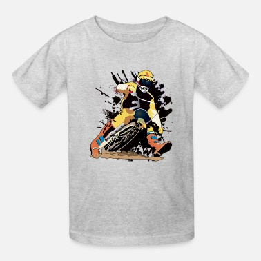Bikes Racing Dirt Bike Motocross xtreme sport  T shirts - Kids' T-Shirt