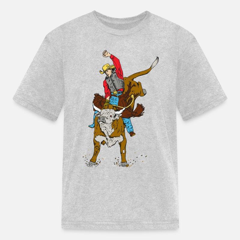 427389bd8 Shop Cowboy T-Shirts online | Spreadshirt