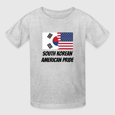 South Korean American Pride - Kids' T-Shirt