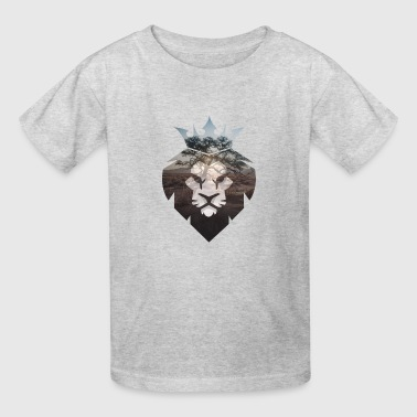African Lion - Kids' T-Shirt