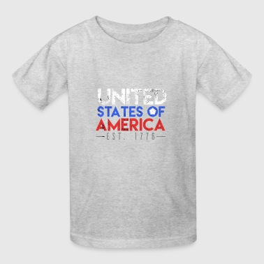 Independence day USA EST. 1776 - Kids' T-Shirt