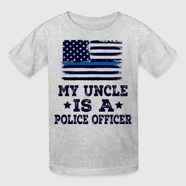Police Officer Uncle Gift For Nephew - Kids' T-Shirt