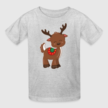 Cute Reindeer - Kids' T-Shirt