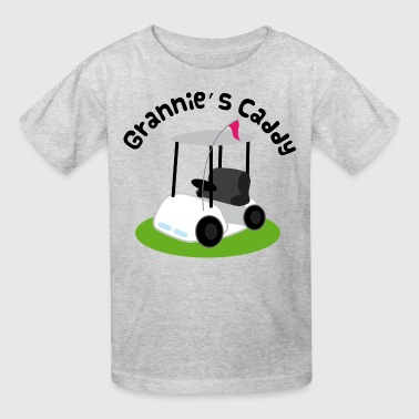 Grannie Golf Caddy Childs Golfing - Kids' T-Shirt
