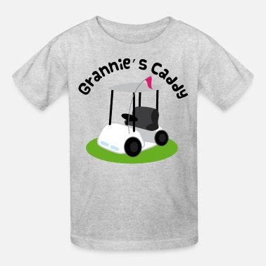 Golf Caddy Grannie Golf Caddy Childs Golfing - Kids' T-Shirt