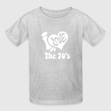 Love 70 s Funny - Kids' T-Shirt