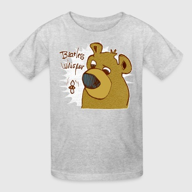 bearless whisper - Kids' T-Shirt