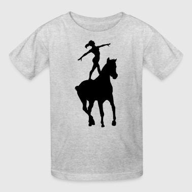 Vaulting - Kids' T-Shirt
