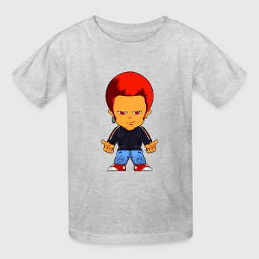 Little Gangster Comic Figure Crime - Kids' T-Shirt