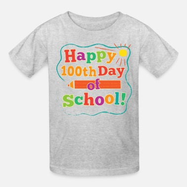 100 Days Happy 100th Day Of School - Kids' T-Shirt
