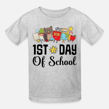 1st Day Of School 1st Day of School Kindergarten Teacher - Kids' T-Shirt