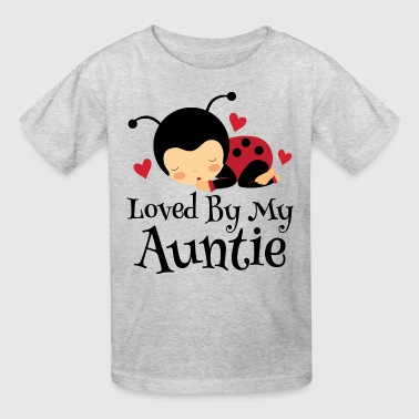 Niece Loved By Auntie Gift - Kids' T-Shirt