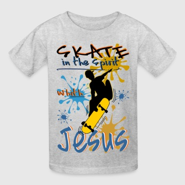 Skate in the Spirit - Kids' T-Shirt