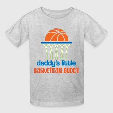 Daddy Little Basketball Buddy - Kids' T-Shirt