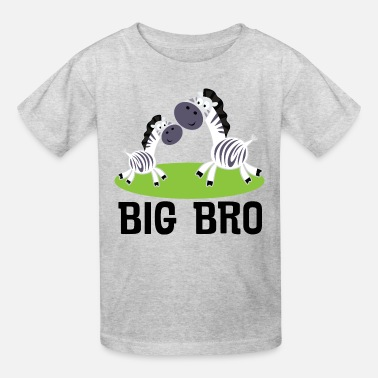 Big Boys Big Bro Boys Zebra - Kids' T-Shirt