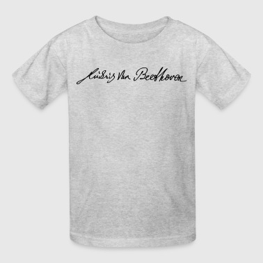 Signature of Beethoven - Kids' T-Shirt