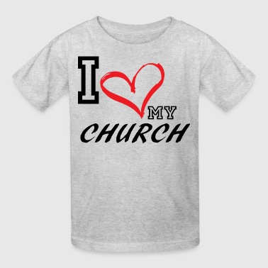 I_LOVE_MY_CHURCH - Kids' T-Shirt