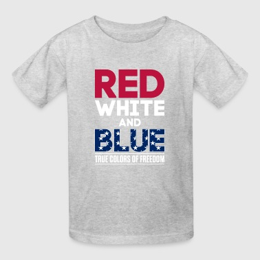Freedom American USA 4th of July Products - Kids' T-Shirt