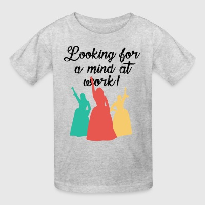 Looking for a mind at work! - Kids' T-Shirt