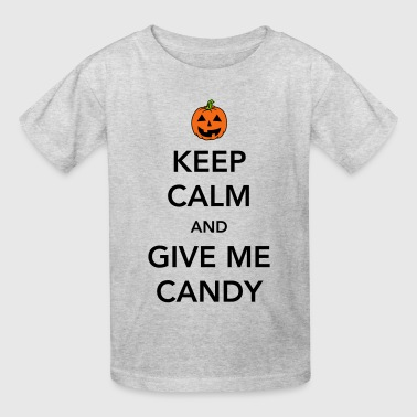 Keep calm and give me candy - Kids' T-Shirt