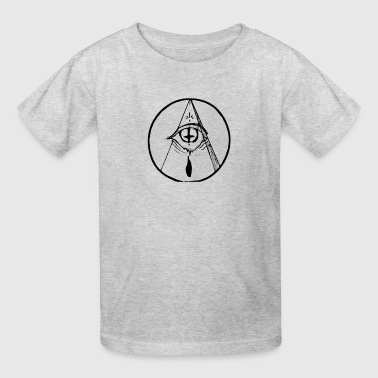 occult eye - Kids' T-Shirt