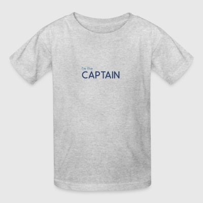 I m the Captain - Kids' T-Shirt