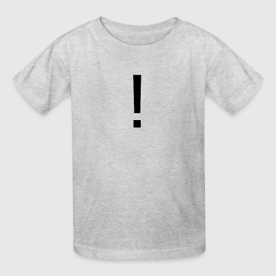 Simple Exclamation Merch - Kids' T-Shirt