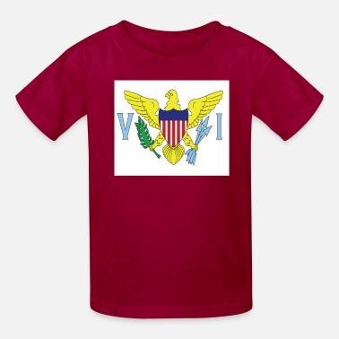 Thomas VIFlag Tshirt design - Kids' T-Shirt