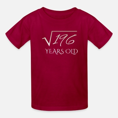 Square Root square root of 196 shirt - 14 years old - Kids' T-Shirt