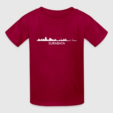 Surabaya Indonesia Skyline - Kids' T-Shirt
