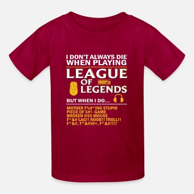 0bf7e60450d17 League of Legends Funny Quote Baby Lap Shoulder T-Shirt | Spreadshirt