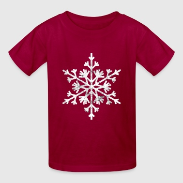 Big snowflake christmas t shirt - Kids' T-Shirt