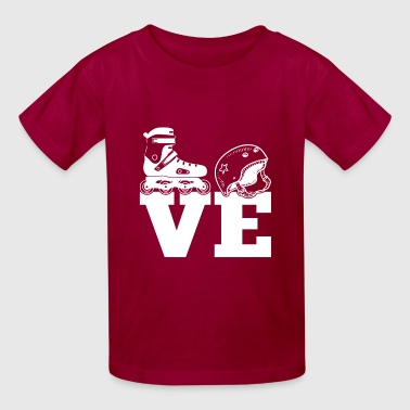 I Love Skating T Shirt - Kids' T-Shirt