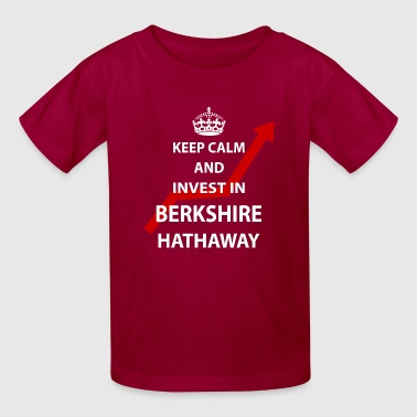 Invest in Berkshire Hathaway Shirt Investing Gift - Kids' T-Shirt
