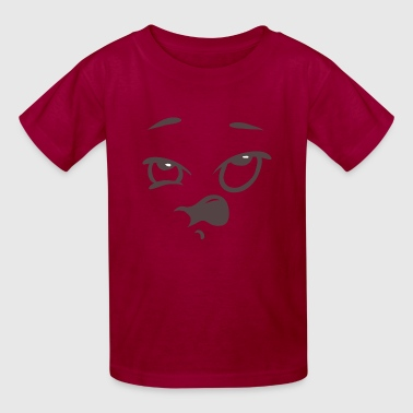 Sneezing face - Kids' T-Shirt