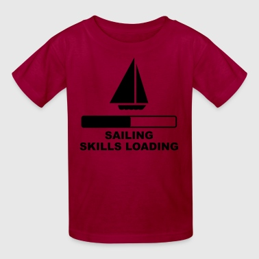 Sailing Skills Loading - Kids' T-Shirt