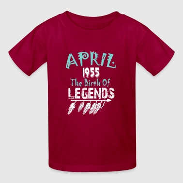 April 1955 The Birth Of Legends - Kids' T-Shirt