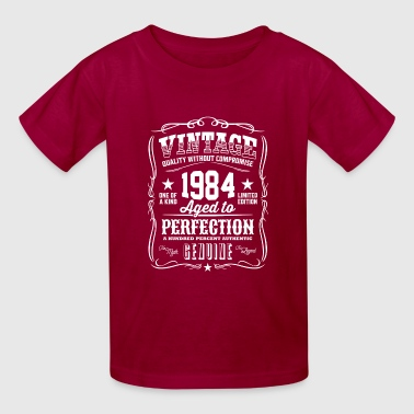 1984 Aged Vintage 1984 Aged to Perfection - Kids' T-Shirt