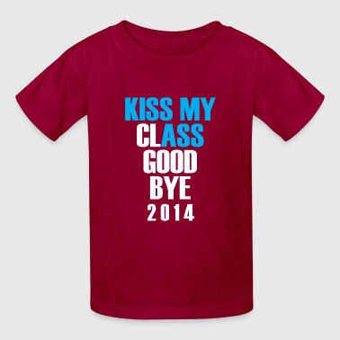 kiss my class goodbye - Kids' T-Shirt